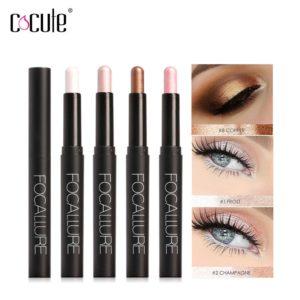 Makeup Eyeshadow Pencil 12 Colors Glitter EyeShadow Pen Long Lasting Make Up Eye Shadow Palette Waterpoof