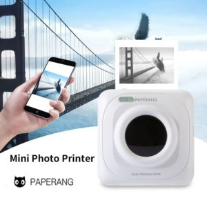 Portable Bluetooth Printer Mini Pocket Photo Printer For iOS Android 5