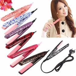 Elegant Hair Straightener Curlers Blow Dryer Waver Flat Iron Ceramic Styling Tools