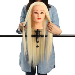 "29"" Hair Salon Training Practice Head With Clamp"