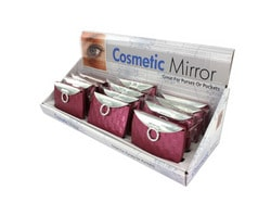 Purse Design Cosmetic Mirror Display ( Case of 48 )