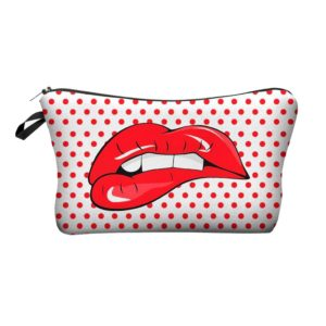 Women's Printed Makeup Bag