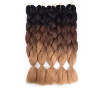 Ombre Color Synthetic Hair Braids