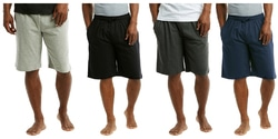 Case of [24] Mens Cotton Knit Shorts – Assorted Colors & Sizes