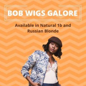 Blonde Straight Bob Wig #613