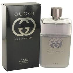 Gucci Guilty Eau by Gucci Eau De Toilette Spray 3 oz (Men)