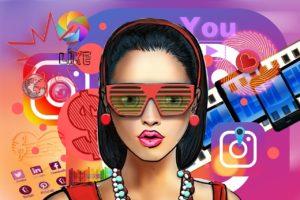 influencer, social media, woman