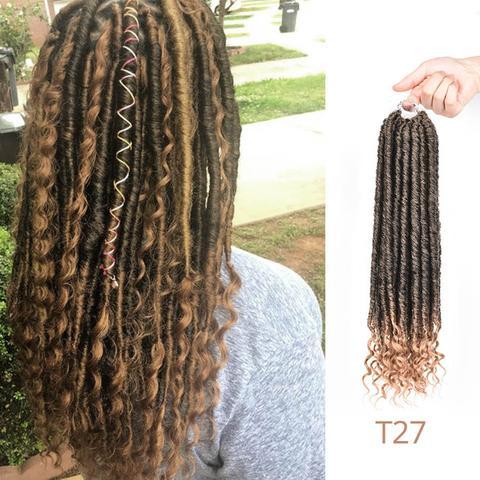 Goddess Faux Locs Crochet Hair