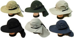 Case of [24] Summer Outdoor Hat with Neck Cover