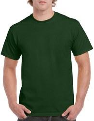 Case of [12] Irregular Gildan T-Shirts Style 5000 Forest Green – Size Large