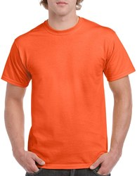 Case of [12] Irregular Gildan T-Shirts Style 5000 Orange – Size XL