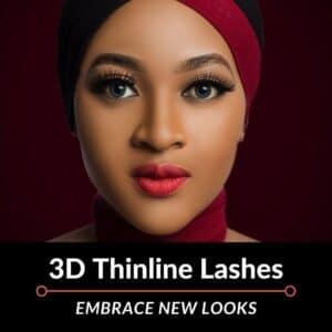 3D Thin Line Mink Lashes – Bangkok (2pkgs)