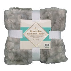 Case of [10] TrailWorthy Faux Fur Micro Mink Blanket – Coyote