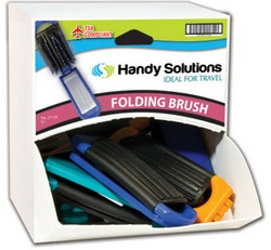 Case of [216] Handy Solutions Mirror Brushes in Dispensit Case – 18 Count