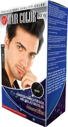 Case of [48] Men's Professional Quality Hair Color – Black