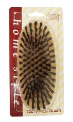 Case of [24] Oval Wooden Hair Brush – Hard