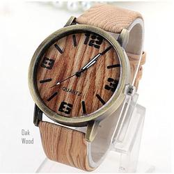 Woodchuck Wood Grain Style Exotic Watches