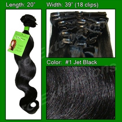 #1 Jet Black – 20 inch Body Wave