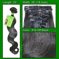 #1b Off Black – 20 inch Body Wave