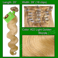 #22 Medium Blonde – 20 inch Body Wave