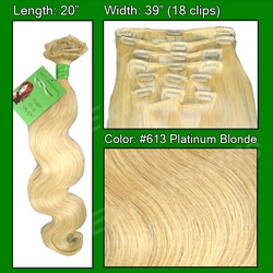 #613 Platinum – 20 inch Body Wave