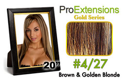 #4/27 Brown w/Blonde Highlights Pro Cute