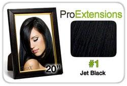 Pro Fusion 20″, #1 Jet Black