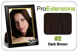 Pro Fusion 20″, #2 Dark Brown