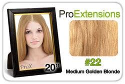 Pro Fusion 20″, #22 Medium Golden Blonde