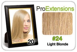 Pro Fusion 20″, #24 Light Blonde