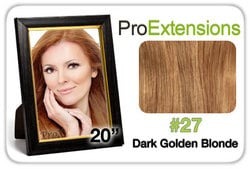 Pro Fusion 20″, #27 Dark Golden Blonde