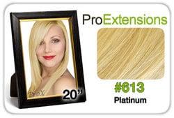 Pro Fusion 20″, #613 Platinum Blonde