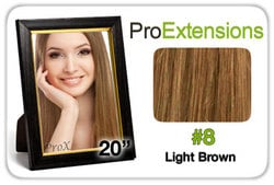 Pro Fusion 20″, #8 Light Brown