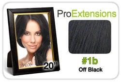 Pro Lace 20″, #1b Off Black