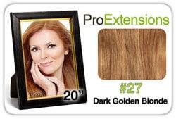 Pro Lace 20″, #27 Dark Golden Blonde
