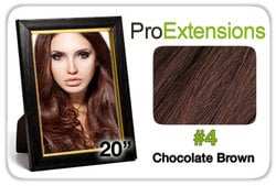 Pro Lace 20″, #4 Chocolate Brown
