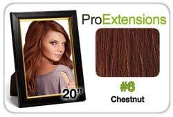 Pro Lace 20″, #6 Chestnut Brown