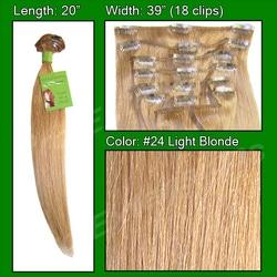 #24 Light Blonde – 20 inch Remi