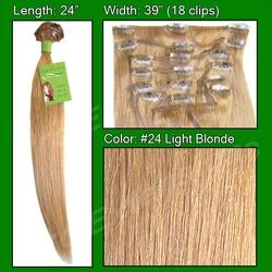 #24 Light Blonde – 24 inch Remy