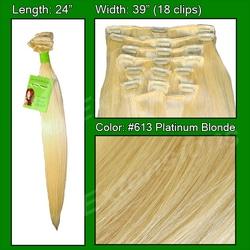 #613 Platinum – 24 inch Remy