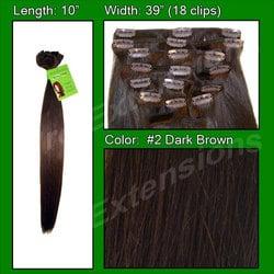 #2 Dark Brown – 10 inch
