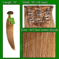 #27 Dark Golden Blonde – 10 inch