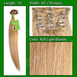 #24 Light Blonde – 14 inch