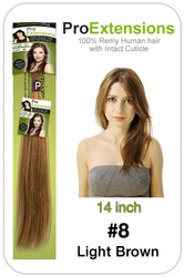 #8 Light Brown – 14 inch