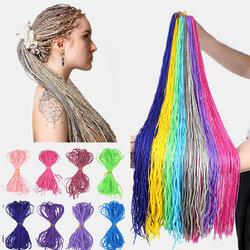 Halloween Crochet Box Braids