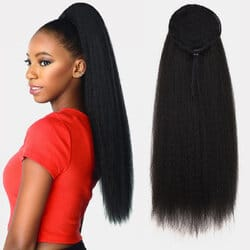 16 Colors Fluffy Ponytail