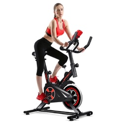 Indoor Cycling Stationary Exercise Bike with Intelligence Function and Adjustable Saddle