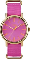 Timex Women's Pink Weekender Nylon Strap Watch