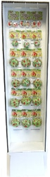 Case of [108] 108pc Foil Baking Cup Display