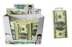 Case of [36] $100 Bill Tissues (10 pk.)